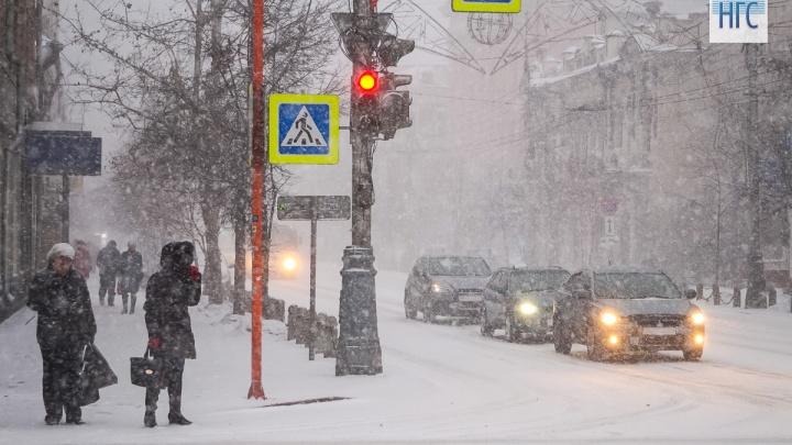 Заморозки и снег обещают в Красноярске на неделе