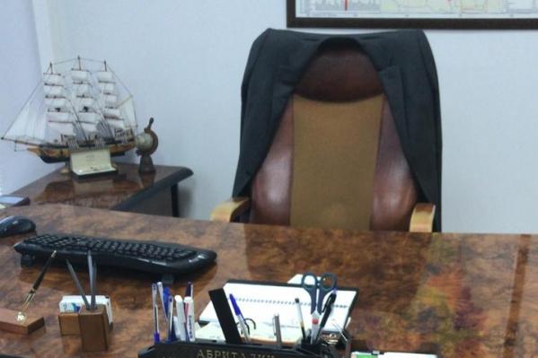 Кресло руководителя освободилось не надолго