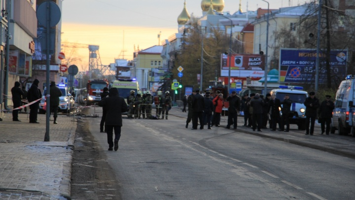 СМИ: ответственность за взрыв в Архангельске на себя взял анархо-коммунист