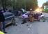 Дорожное видео недели: пожар после лобового ДТП, страшная встречка на Вторчермете и мусоровоз в яме