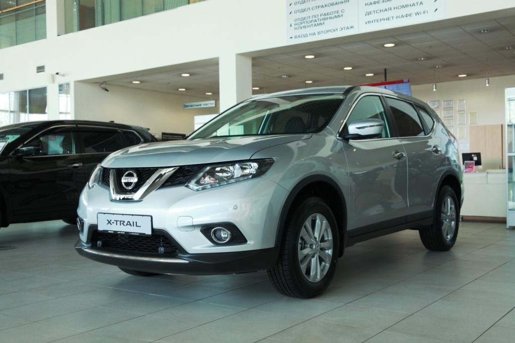 NissanX-Trail: цена от 1 365 000 руб., выгода до 355 000 руб., кредит от 0,1%**