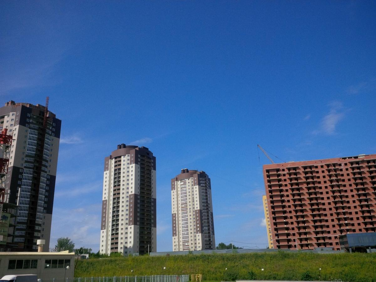 Из семи домов «Закаменского» ввели только два: строительство одного не успело даже начаться, а остальные дома находятся в разной степени готовности