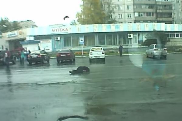 Очевидцы пытались догнать виновников ДТП