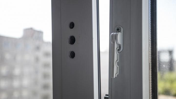 Двухлетний ребёнок облокотился на москитную сетку и выпал из окна на Бориса Богаткова