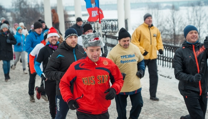1 января по Ярославлю побегут трезвые люди