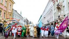 30 фотографий праздника. В Нижнем Новгороде начались «Горьковские елки»