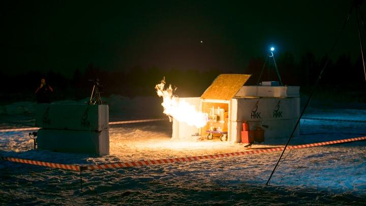 В Красноярске провели испытания первого напечатанного на 3D-принтере ракетного двигателя