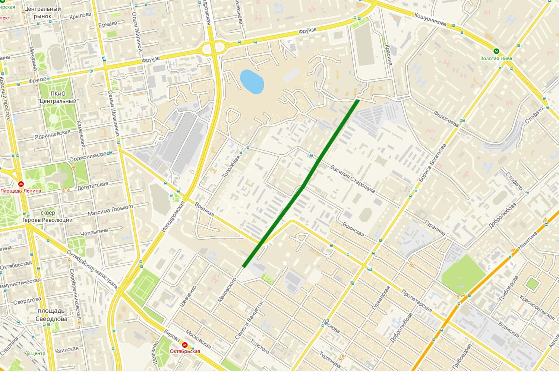 Через Военный городок планируют проложить дорогу к «Сибирскому Моллу» и новой застройке