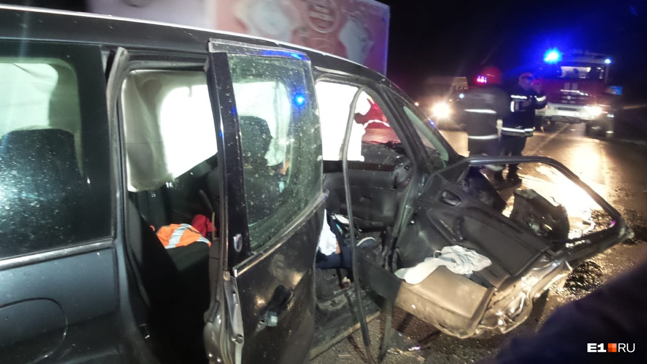Погибшая ехала на переднем пассажирском сиденье Ford, подушки безопасности ее не спасли