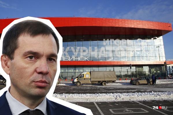 Андрей Осипов стал гендиректором челябинского авиапредприятия, когда новый терминал был уже почти готов