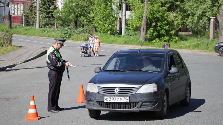 Массовые проверки водителей на трезвость пройдут в эти выходные в Северодвинске