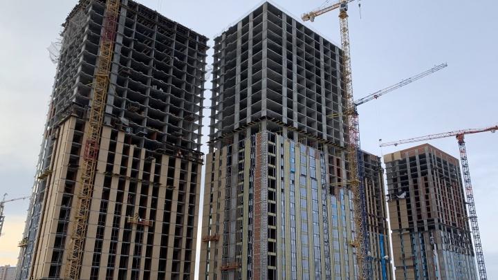 С опережением сроков: близится к завершению строительство одного из самых ожидаемых жилых комплексов Уфы