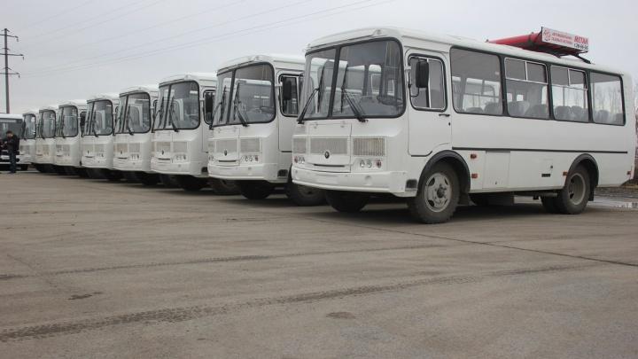 «Поехали»! Первые автобусы на метане готовы к работе