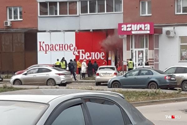 Пожар произошёл в разгар рабочего дня в пятницу, 11 октября