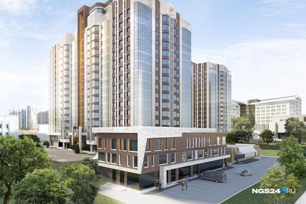 Новый ЖК будет состоять из двух 16-этажных «свечек»