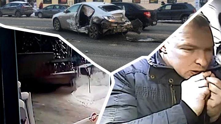 Дорожное видео недели: массовое ДТП на Малышева, столкновение грузовиков и погоня за пьяным рецидивистом