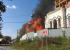В Свердловской области загорелась церковь. Видео