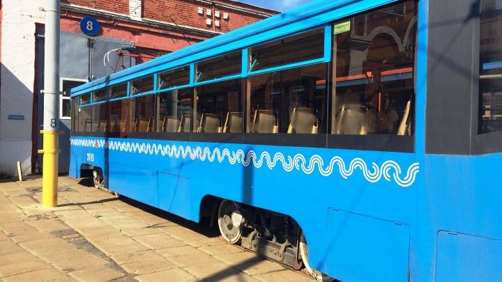 Московские трамваи привезут в Омск в середине зимы