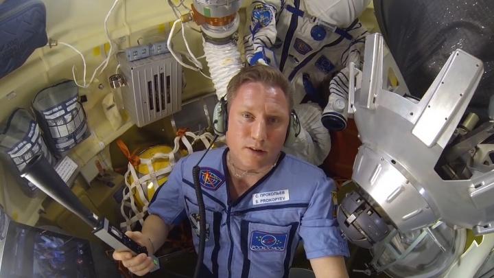 «Никто дырку пальцем не затыкает»: екатеринбургский космонавт рассказал про трещину в корабле «Союз»