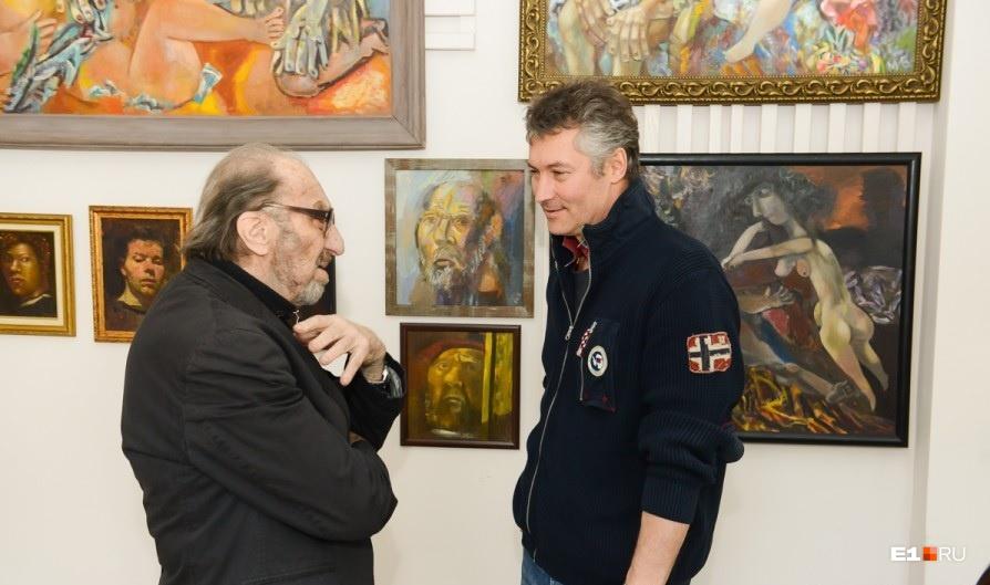 Виталий Волович и Евгений Ройзман