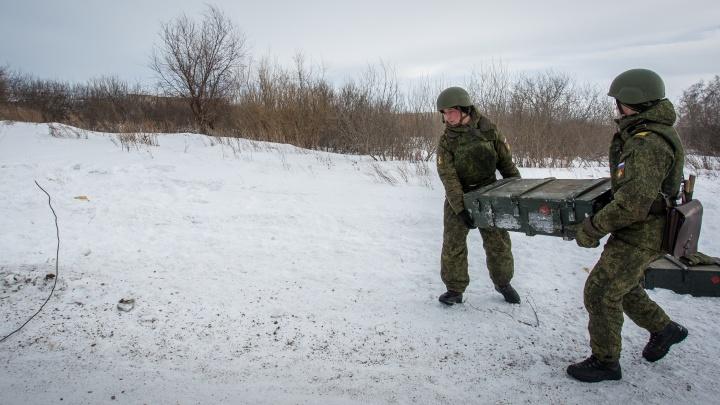 Новосибирские военные участвуют в масштабных тренировках боеготовности