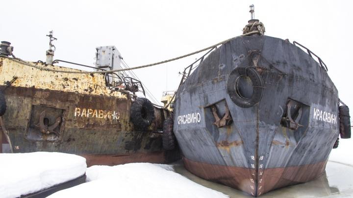 Не взлетим, так поплаваем. Может быть: фотографии «сезонного кладбища» судов в Соломбале