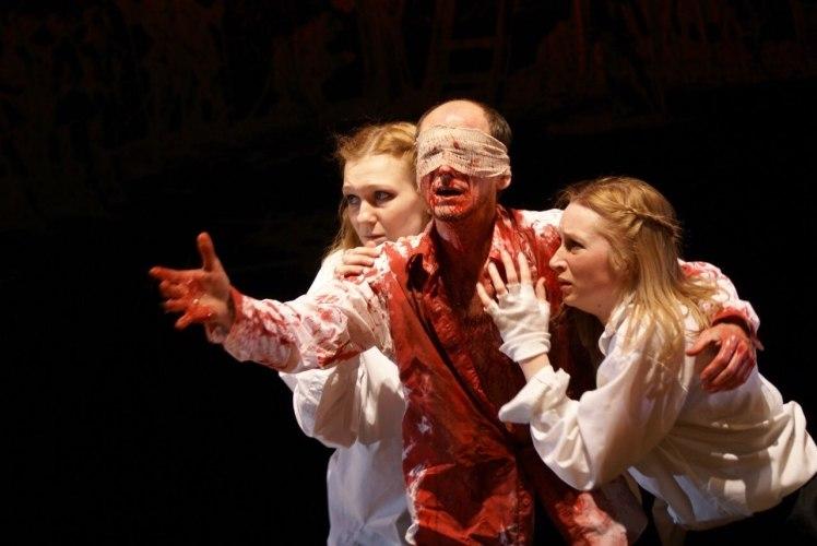 «Царь Эдип. Прозрение» появился в репертуаре театра в 2014 году