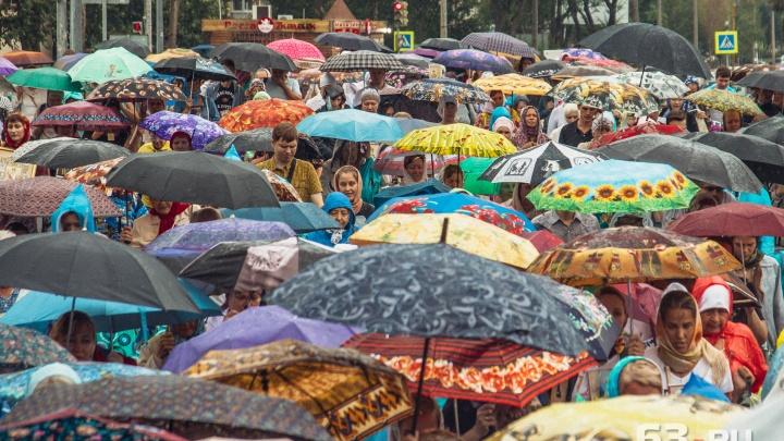 «Захватите зонт»: рабочая неделя в Самарской области начнется с дождей