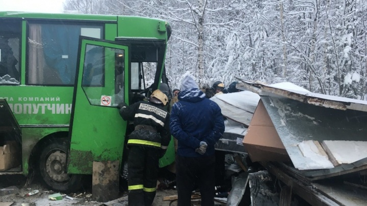 «Автобус выехал на встречку». Подробности аварии в Прикамье, в которой пострадали 15 человек
