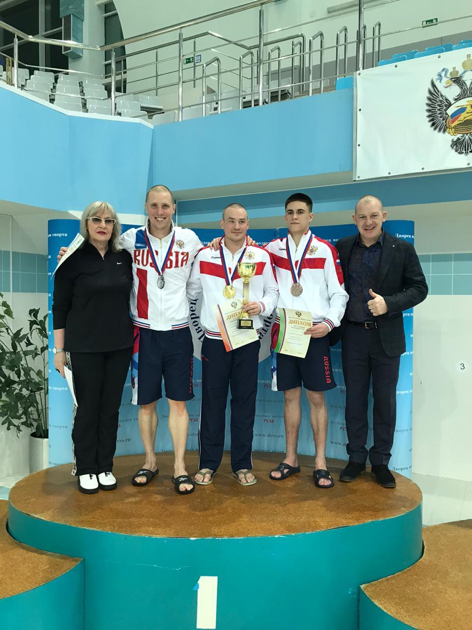 Евгений Новосёлов также завоевал серебро в индивидуальном зачёте
