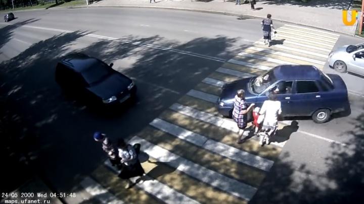 В Башкирии водитель, устроивший массовое ДТП, был пьян и без прав