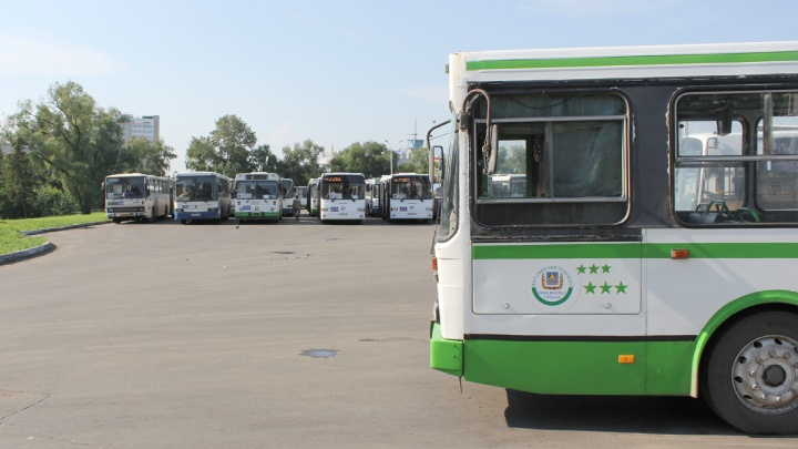 Частный перевозчик выставил на продажу большие городские автобусы