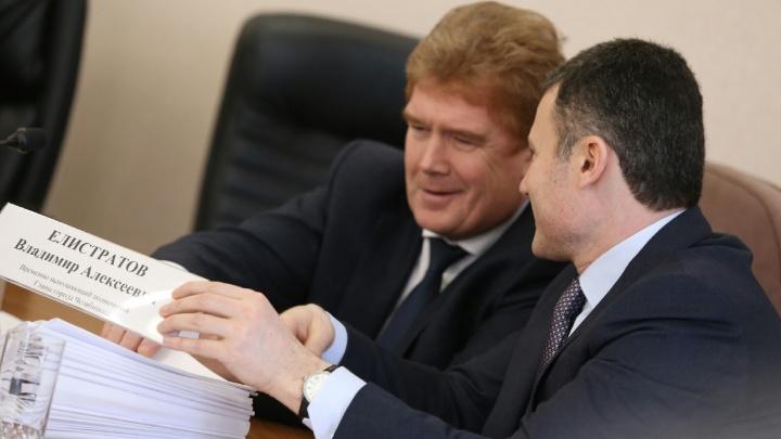 «Всё ожидаемо»: новый мэр Челябинска Владимир Елистратов сделал первые заявления