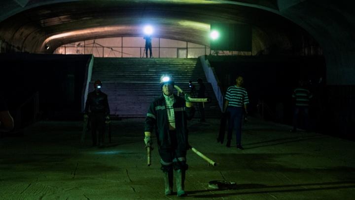 Челябинская компания за 97 миллионов начала консервацию омского метро: репортаж из «подземелья»
