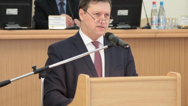 В Курганской областиБорис Шалютин занял должность уполномоченного по правам человека