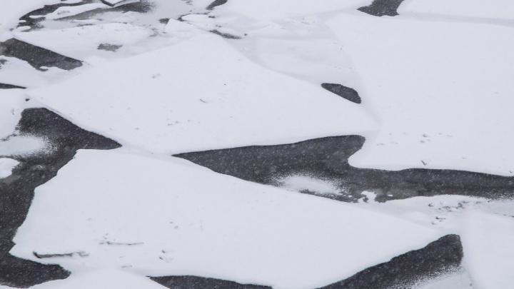 Ледостав на реках Архангельской области откладывается из-за надвигающегося потепления
