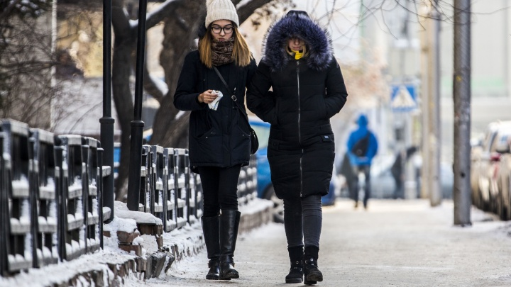 В Новосибирскую область идут 30-градусные морозы