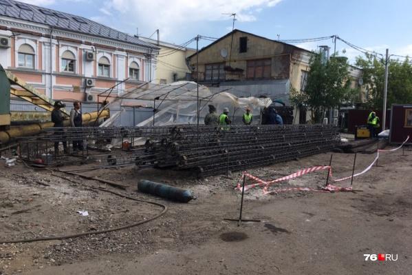 Проект кинотеатра в документах оформили как реконструкцию