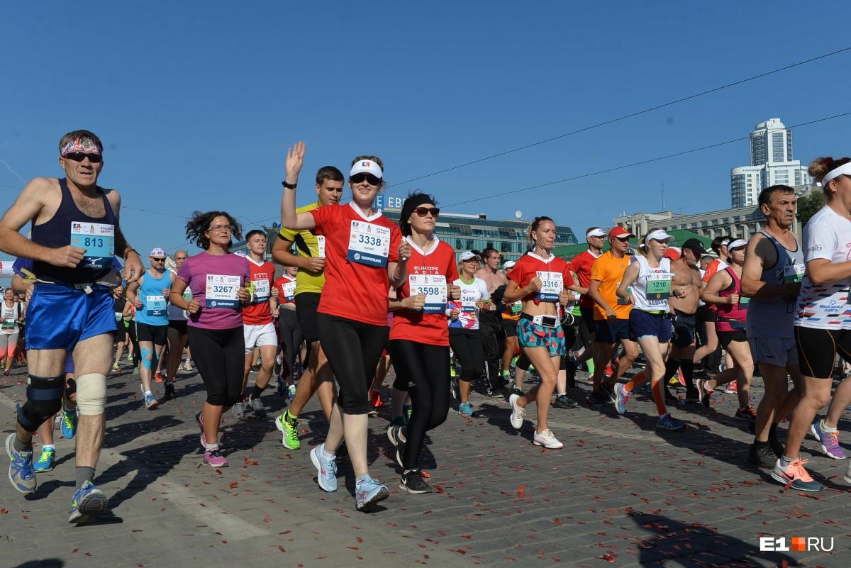 Тру-марафонцы даже в мае побегут в шортах и майках