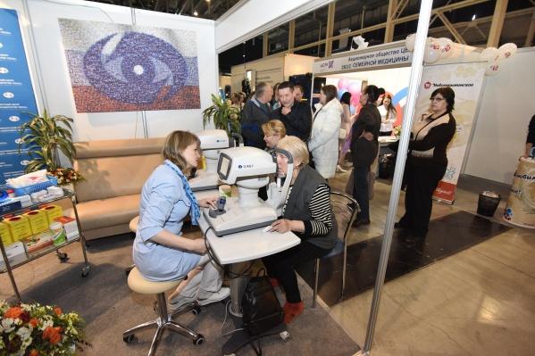 Любой посетитель выставки может проверить свое здоровье на стендах «Экспо»
