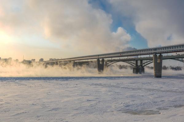 В последний день января температура в Новосибирске резко понизится
