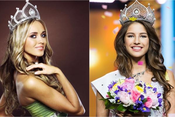 Тюменки Ксения Сухинова (слева) и Яна Добровольская сумели победить на «Мисс Россия» разных лет. Кто станет следующей?