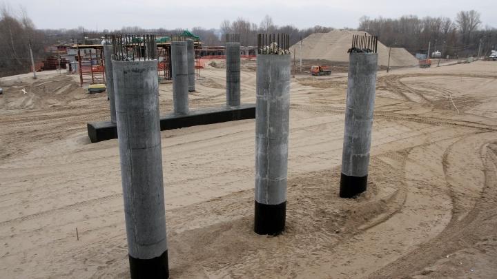 Минтранс еще раз оштрафовали за нарушения при строительстве Фрунзенского моста