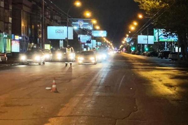 Одно из ДТП с участием пешехода случилось на проспекте Карла Маркса