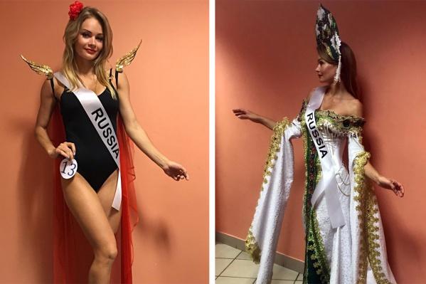 27-летняя Кристина Гончарук из Новосибирска стала победительницей Международного конкурса красоты<br>