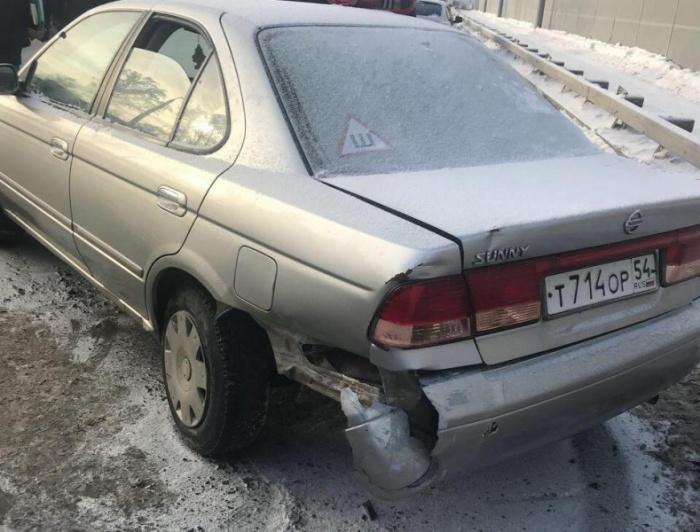 Стоящую машину обнаружили 15 декабря около 13:45