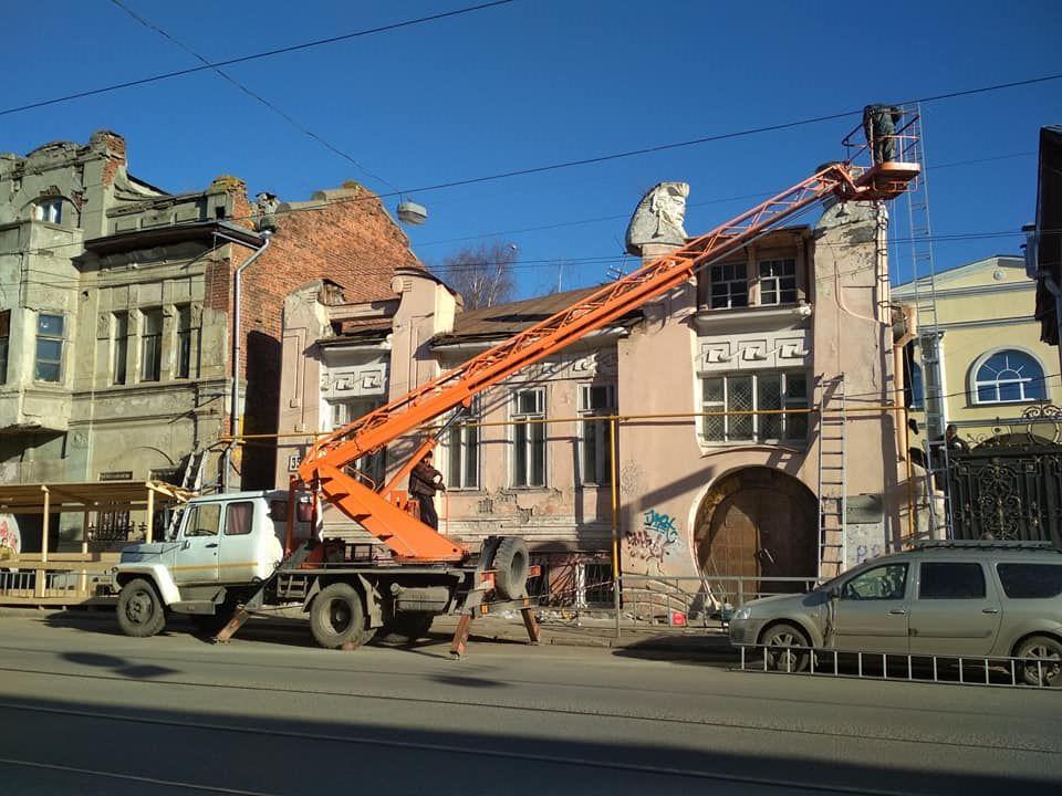 Здание было построено в начале ХХ века