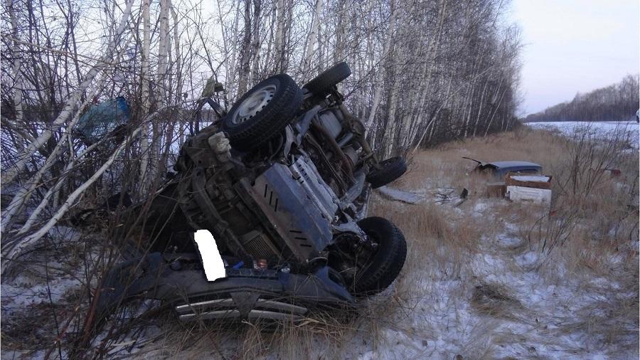 Водитель, по предварительным данным, не был пристегнут