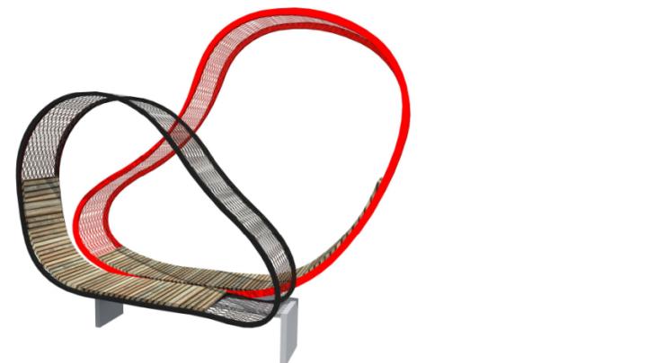 В Самаре установят лавочки в форме сыра, сердца и колеса