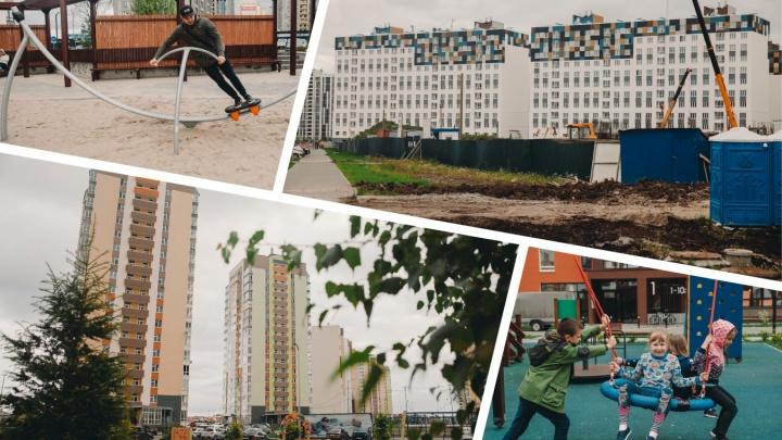 «Вырвиглазные» фасады и крутые дворы: гуляем по Тюменской слободе, где дома растут как грибы